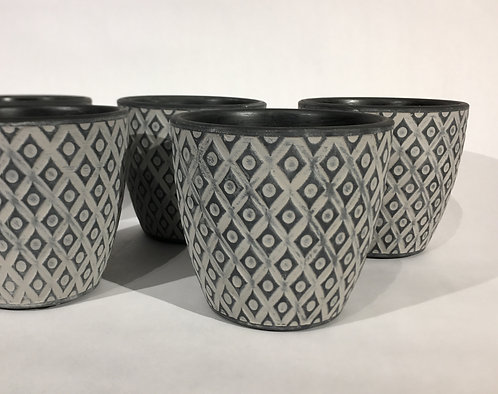Small Decorative Ceramic Pots