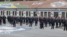 PM faz cerimônia de entrega de espadins a 234 cadetes