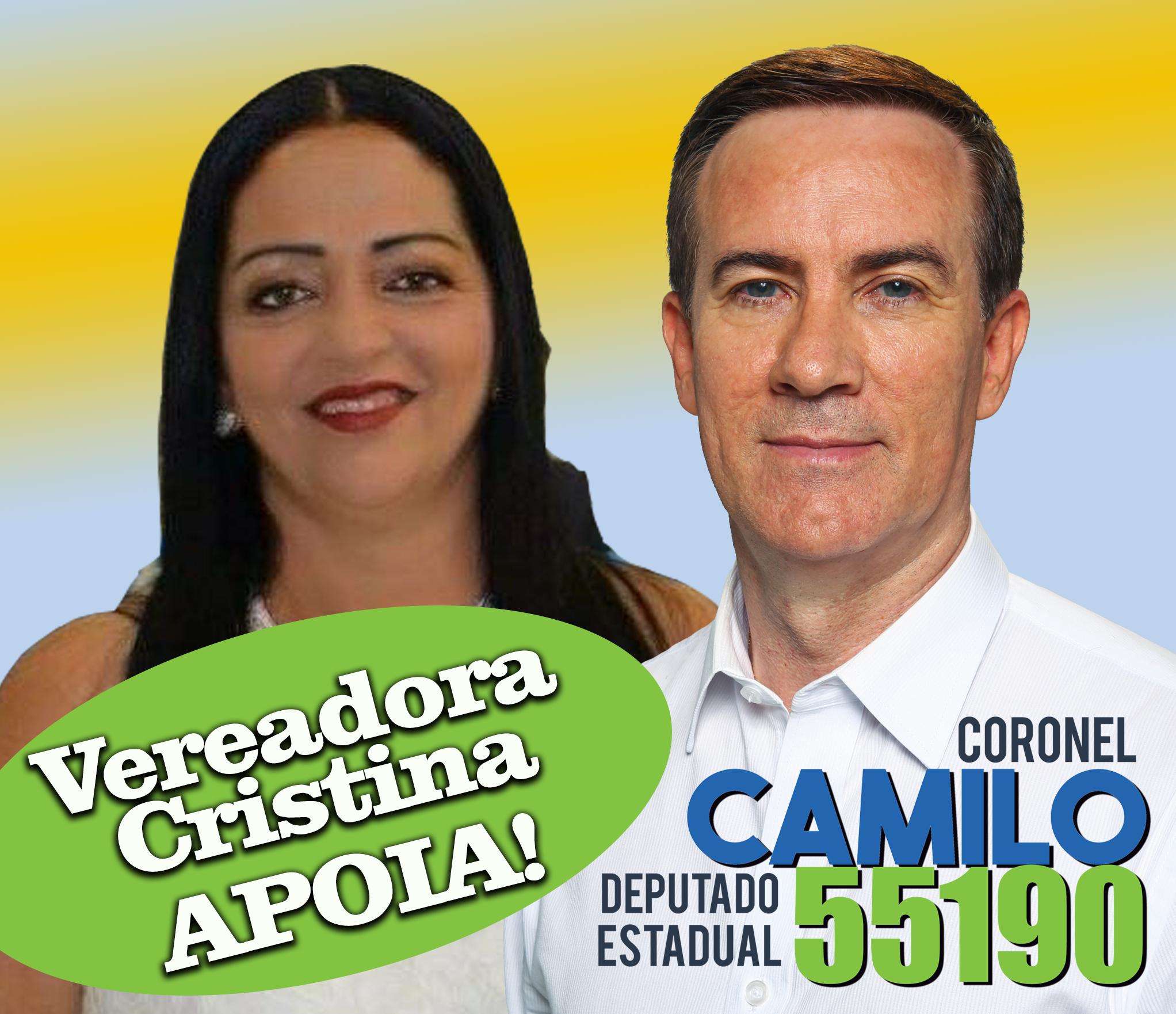 Vereadora Cristina
