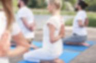 mobile yoga teacher sunshine coast