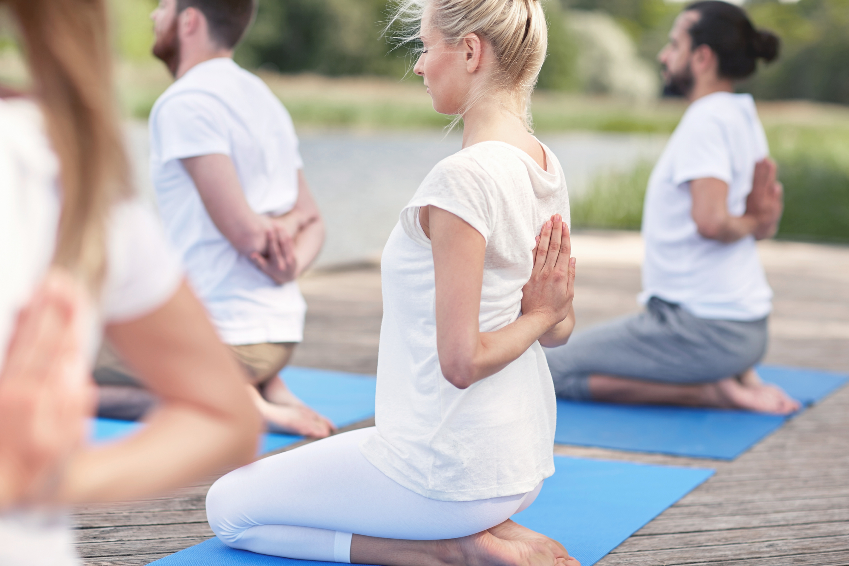Backyard Small Group Yoga