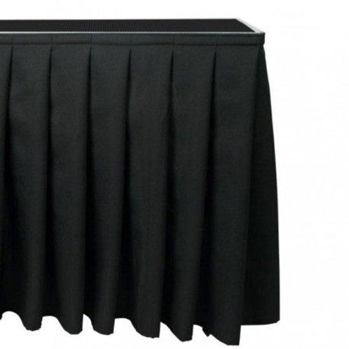 ALUDEX Pleated Skirt [inc Skirt Strip] - 2m x 60cm Drop