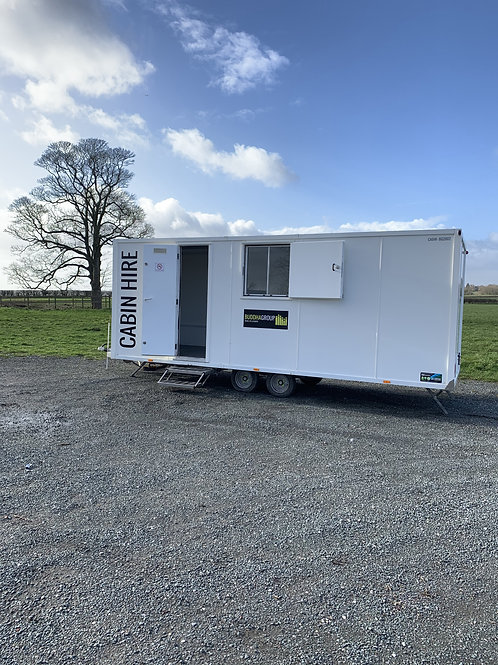 20ft Towable Production Cabin