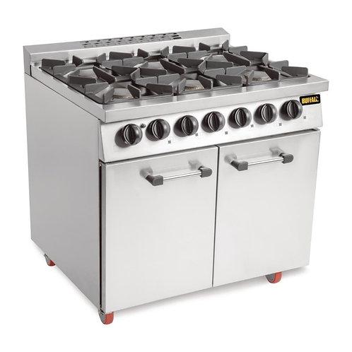 Gas Oven / 6 Burner Hob