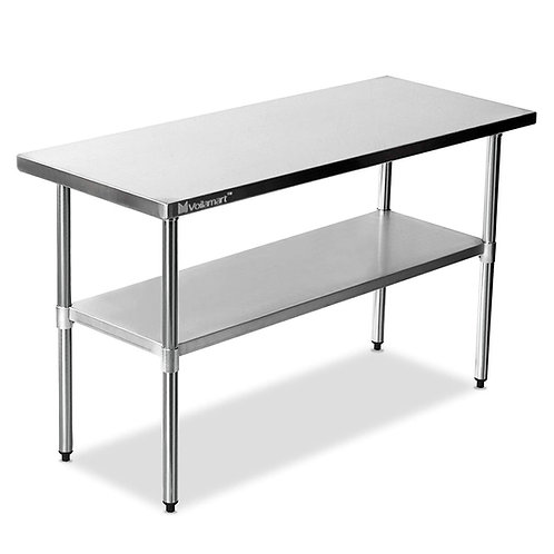 5FT Stainless Steel Prep Table
