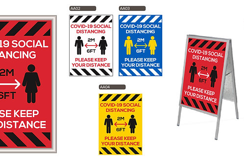 Range of Signage (Sale Item)
