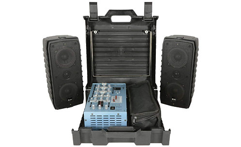 Suitcase Complete PA System (USB / SD / DSP)