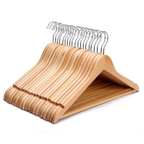 30x Wooden hangers