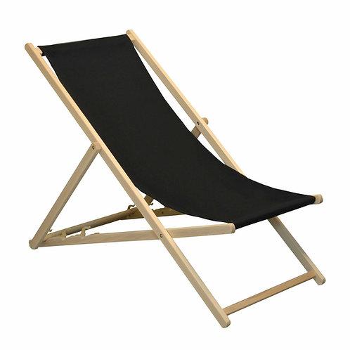 Black Deck Chair