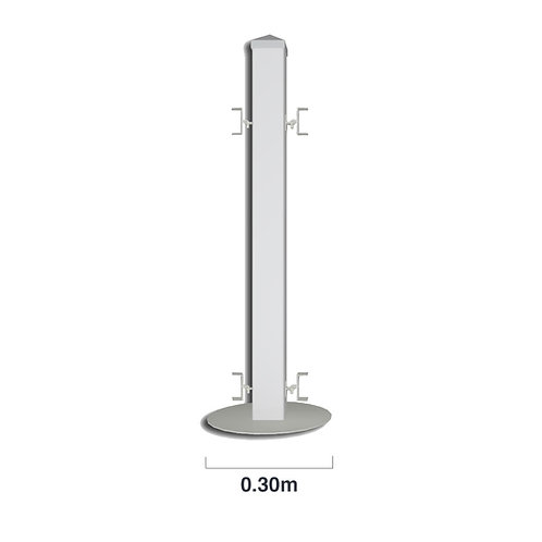 PIKIT PRO UPVC Picket Fence Post