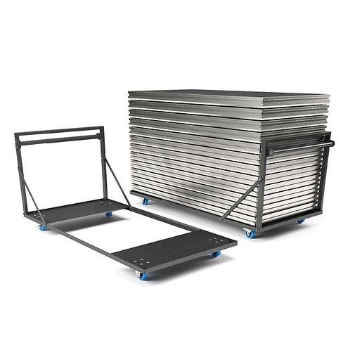 ALUDEX 2m x 1m Deck Trolley