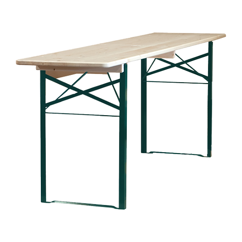 6ft (Skinny) Wooden Scandy Table