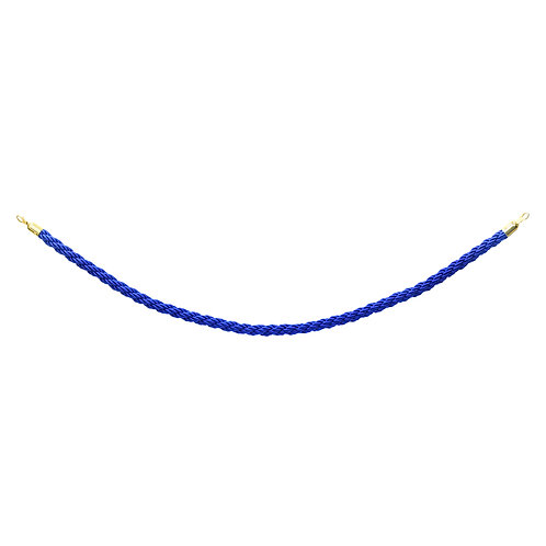 EBUK - Gold Barrier Twisted Rope 1.5m Blue