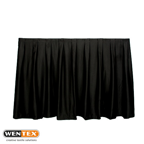WENTEX Black Drape - W-3m / H-4m