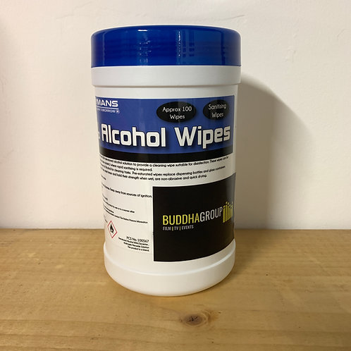 100X 80% Alcohol Sanitiser Wipes (Sale Item)