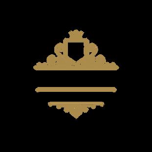 Vintage Gold Luxury Flourishes Brand Log