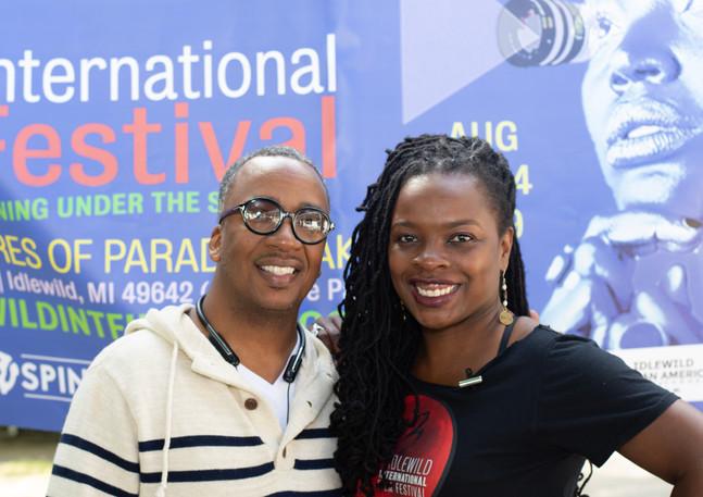 Sponsor Kelvin and Curator Tinisha.jpg