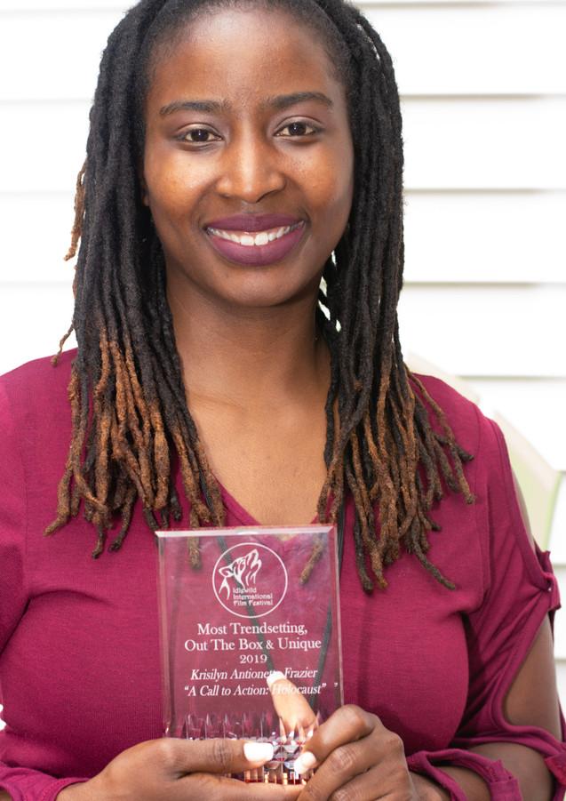Award Winner Krisilyn Frazier