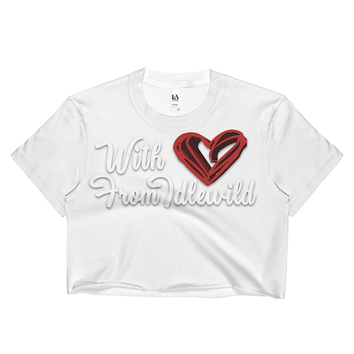 WITH LOVE CROPPED TEE