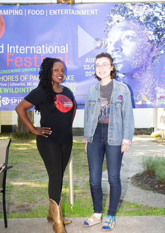 Tinisha With Volunteer Nicole