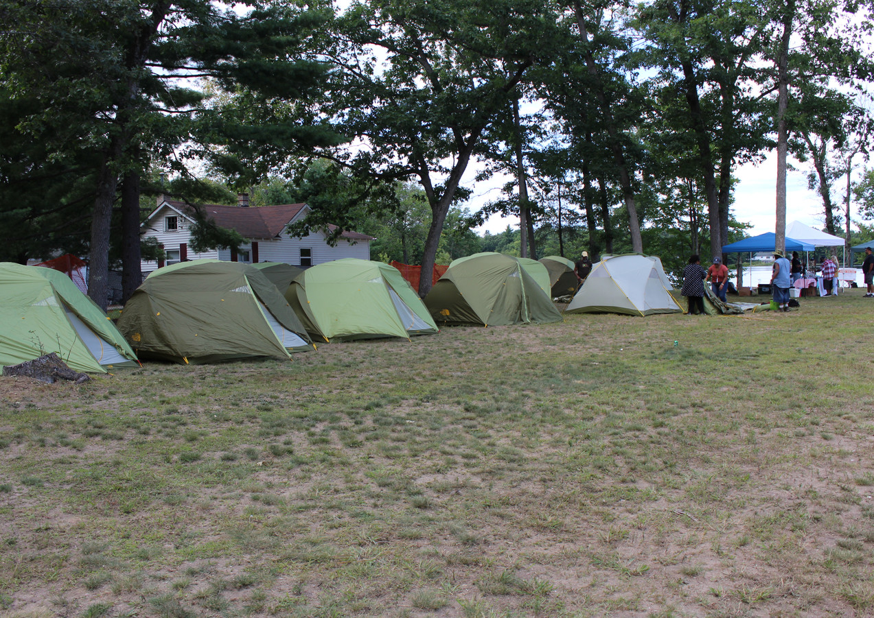 Limited on grounds camping is available