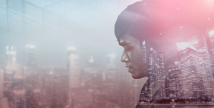 double-exposure-image-of-business-person