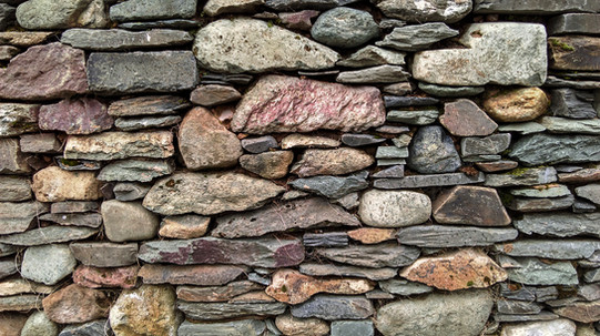 Old tradition of dry stone construction