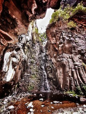 Der Wasserfall von El Guru