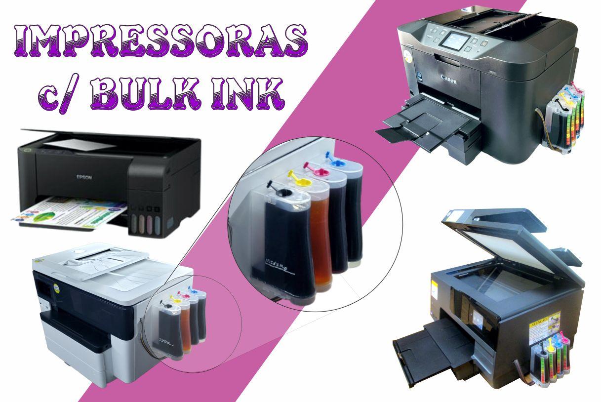 Impressoras com Bulk Ink