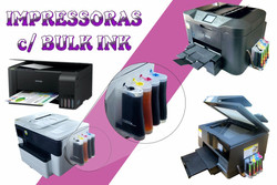 IMPRESSORAS c/ BULK INK