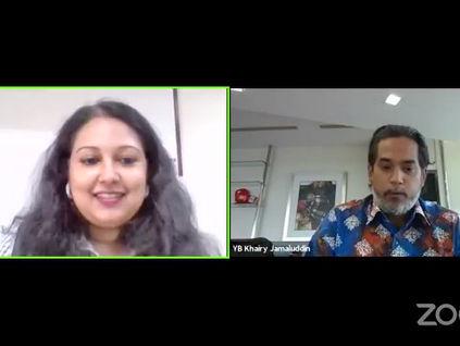 11. Khairy Jamaluddin : Unsure Vaccines Effectiveness
