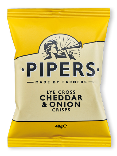 Pipers Cheddar Spring Onion