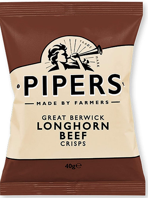 Pipers, longhorn beef