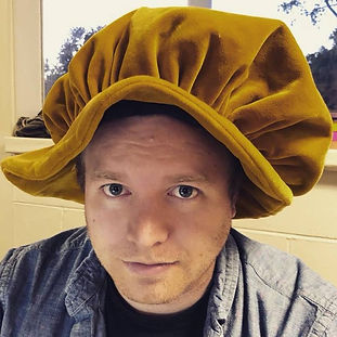 Brian with a hat