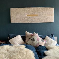 Wandbild aus Holz