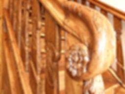 Restaurierung einer 200Jahre alten Holztreppe