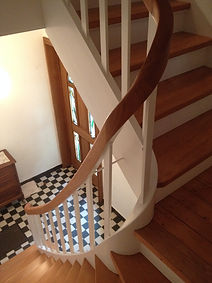 alte Holztreppe aufarbeiten