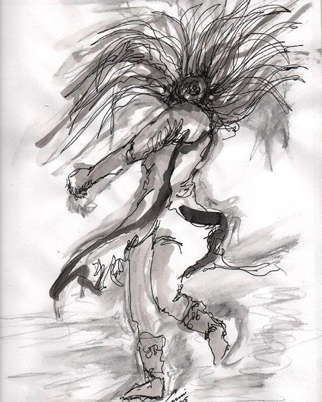 Mexica dancer