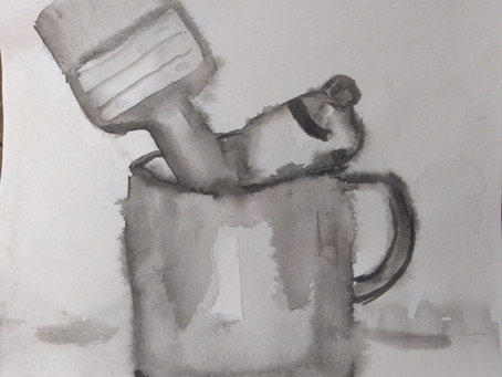 Taller de dibujo con tinta china impartido por Noemi Hernandez