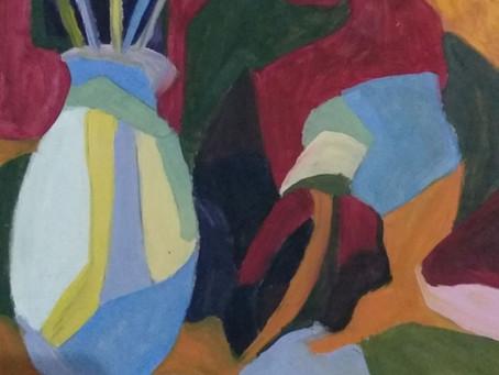 Taller de pintura al óleo estilo cubista impartido por Noemi Hernandez