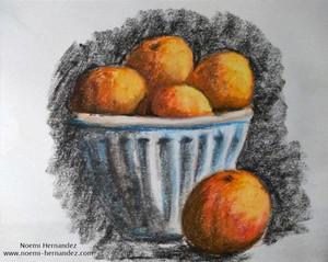 Frutero de mandarinas