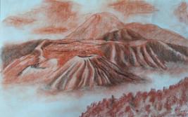 Paisaje de volcanes