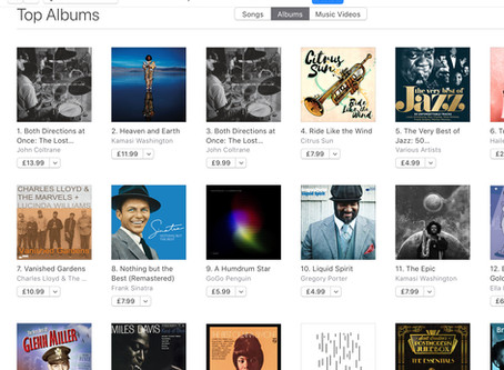 Straight in #4 iTunes Jazz Chart