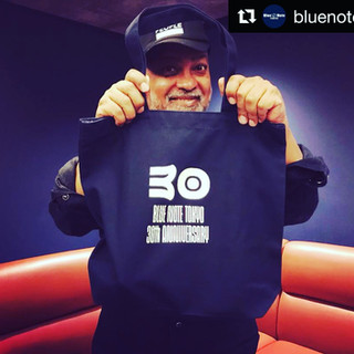 30 yr anniversary tote by Blue Note Tokyo