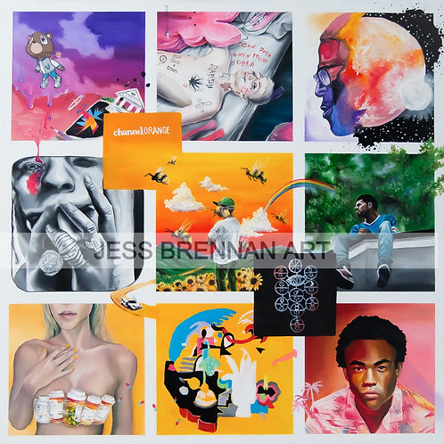 Album Collage- DIGITAL FILE