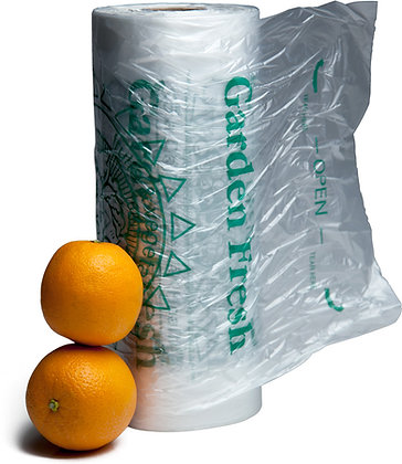 "11"" x 17"" ""5-a-Day"" Produce Bags on Roll (3200/CS)"