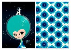 Gigi Oh! in space