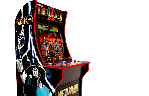ARCADE1UP Mortal Kombat 4ft arcade reveal | Test Your Might