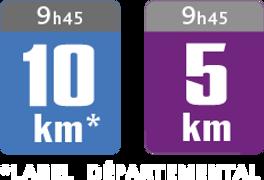 La course des géants - Course à pied  5 - 10 km