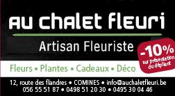 PUB_Au chalet fleuri - Course à pied - Course des géants